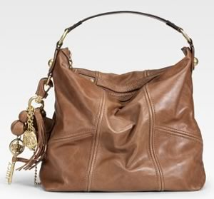 Juicy Couture Classic Leather Hobo