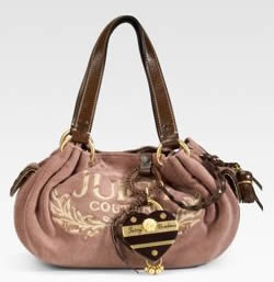 Juicy Couture Baby Fluffy Terry Handbag