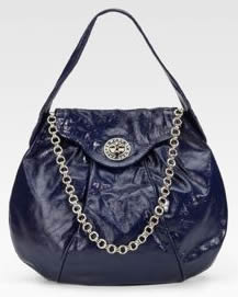 Marc by Marc Jacobs Patent Leather Hobo