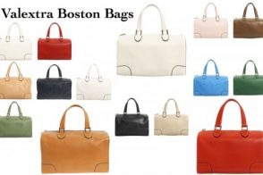 Valextra Boston Bags