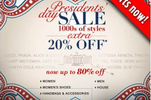 BlueFly President's Day Sale