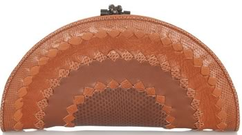 Bottega Veneta Half Moon Clutch