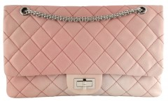 Chanel 2.55 Tie Dye Pink Leather