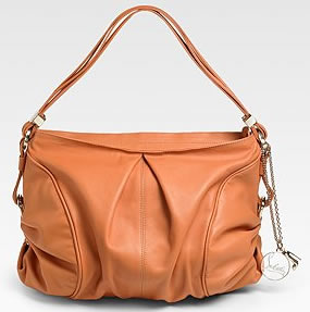 Christian Louboutin Piercing Softy Hobo