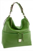 Dooney & Bourke Large Zip Pocket Hobo