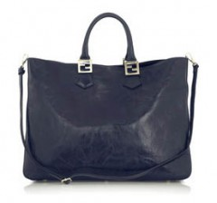 Fendi Large Navy Tote