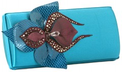 Mary Norton Mollie Orchid Clutch