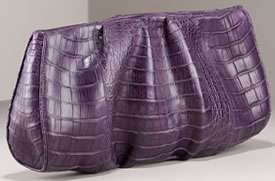 Nancy Gonzalez Purple Clutch