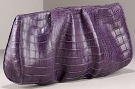 Nancy Gonzalez Purple Clutch