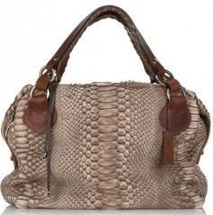 Pauric Sweeney Overnight 1 Python Bag
