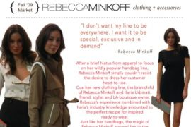 Rebecca Minkoff Apparel: Wanna see?