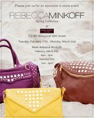Rebecca Minkoff Exclusive Event