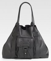 Stephane Verdino Leather East/West Tote