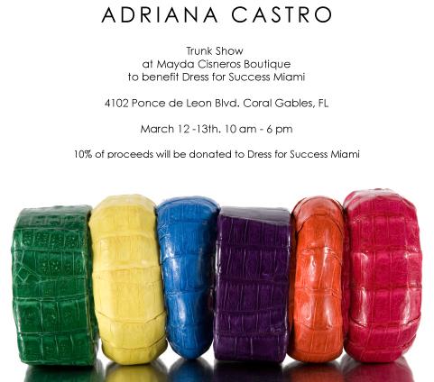 Adriana Castro Trunk Show