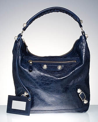 Balenciaga Giant Day Bag in Navy