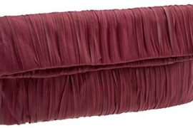 Beckon Plissé Clutch
