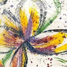 Carlos Falchi Floral Print