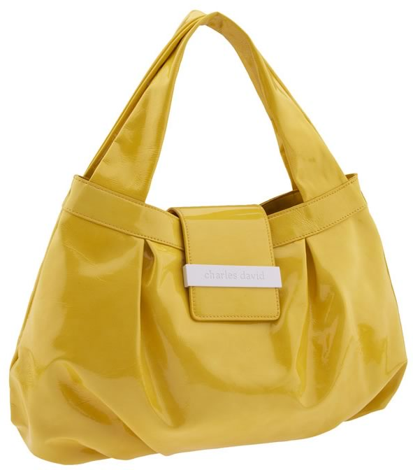 The Charles David Liquid Patent Horizontal Satchel Is Another One Of Those Darn Tobos As Marc By Jacobs Folks Call Them