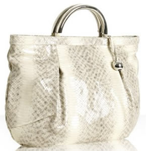 Furla Rock Snake Embossed Matilde Shopper