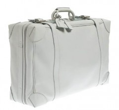JCrew Lugano Leather Suitcase