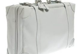 J.Crew Lugano Leather Suitcase