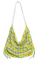 Juicy Couture Plaid Towel Sling