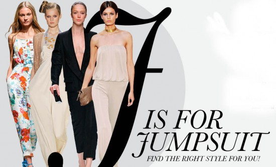 Jumpsuits?  Just say no, ladies.