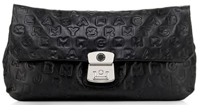 Marc by Marc Jacobs Puckered Linda Clutch