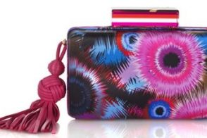 Matthew Williamson Dark Escape Box Clutch