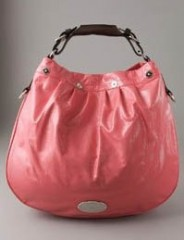 Mulberry Creased Patent Mitzi Hobo