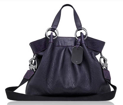 Mulberry Shimmy Tote in Purple