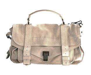 Proenza Schouler Medium Suede PS1 Bag in Sand