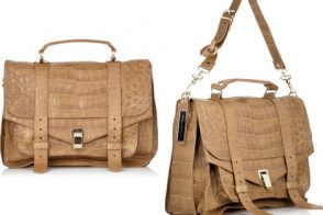 Proenza Schouler PS1 Crocodile Satchel