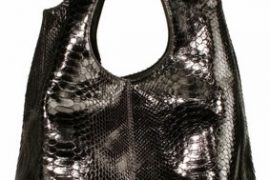 Ted Rossi Python Shoulder Bag