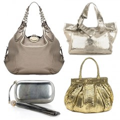 The Find: Metallic Handbags
