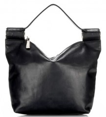 Yohji Yamamoto Leather Bag with Metal Rinds