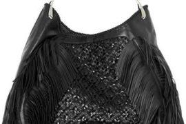 Alexander McQueen Leather Woven Wishbone Shopper
