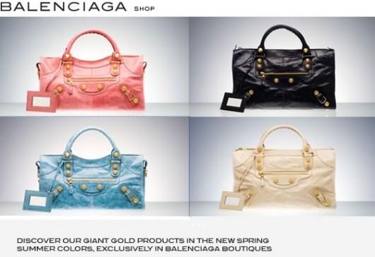 Balenciaga Giant Gold Hardware Bags