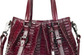 Burberry Cartridge Pleat Tote