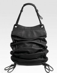 Donna Karan Drawstring Shoulder Bag