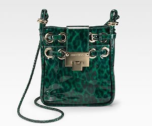 Jimmy Choo Rosie Leopard Print Bag