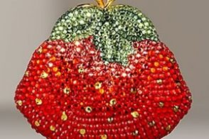Judith Leiber Strawberry Pillbox