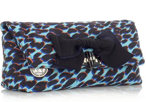 Lanvin Pop Leopard-Print Clutch
