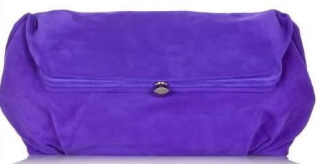 Marni Violet Suede Frame Bag