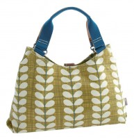 Orla Kiely Crosshatch Stem Shoulder Bag