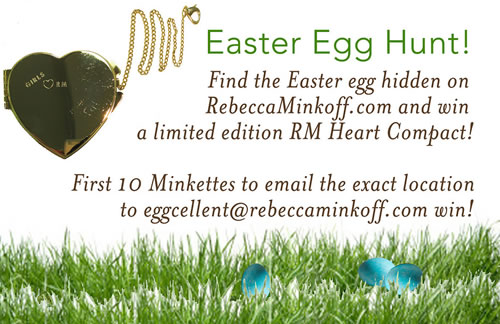 Rebecca Minkoff Easter Egg Hunt