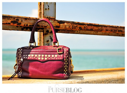 Rebecca Minkoff Studded Morning After Mini