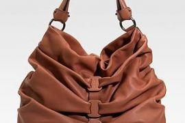Salvatore Ferragamo Gathered Shoulder Bag