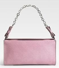 Salvatore Ferragamo Leather Evening Bag