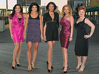 The Real Housewives of New Jersey: Jacqueline, Teresa, Danielle, Dina and Caroline